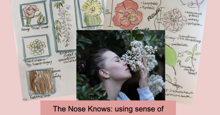 The Nose knows: using smell in journaling